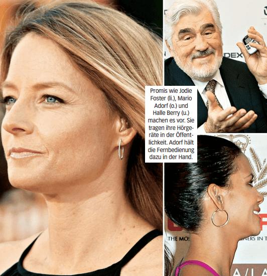 Ganze Woche - Moderne Hörhilfen sind kaum noch zu sehen