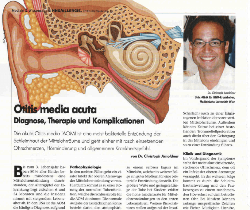 Otitis Media Acuta (Mittelohrentzündung)
